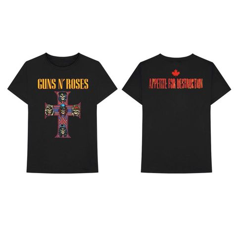 Guns N' Roses: Cross Redux T-Shirt