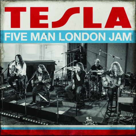 Tesla: Five Man London Jam (2LP) (Clear Red/ Clear Blue)