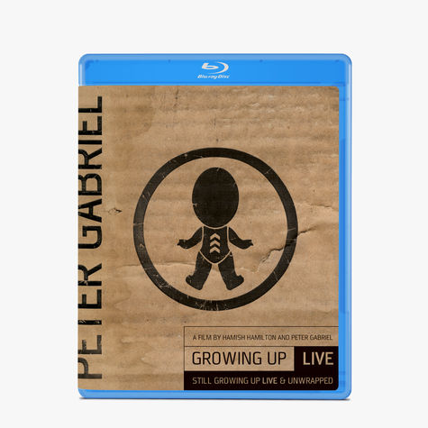 Peter Gabriel: Growing Up Live & Unwrapped + Still Gowing Up Live (BLU-RAY + DVD)