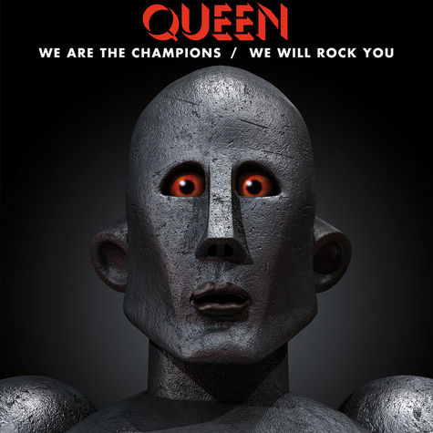 Queen: We Are The Champions b/w We Will Rock You