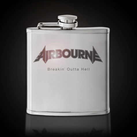 Airbourne: Airbourne Whiskey Flask