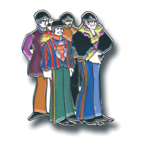 The Beatles: Sub Band Pin