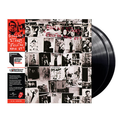 The Rolling Stones: Exile On Main St (2LP)