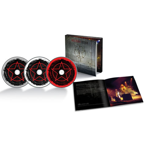 Rush: 2112 (40th Anniversary) (2CD + DVD)