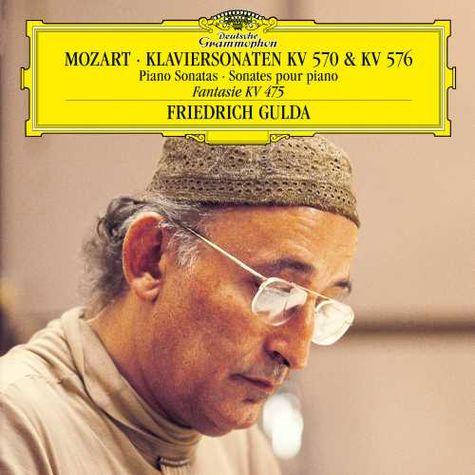 Friedrich Gulda: Mozart: Piano Sonatas (LP)