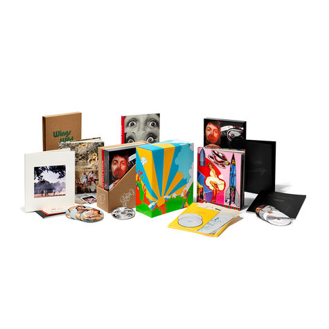 Paul McCartney and Wings: 1971-73 Limited Edition Box Set