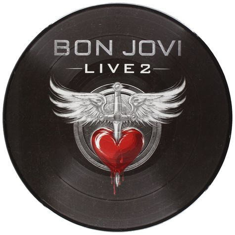 Bon Jovi: Live 2 (Picture Disc LP)