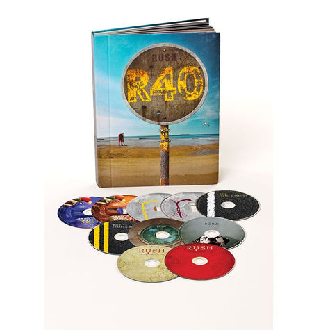 Rush: Rush 40 (10 DVD Boxed Set)