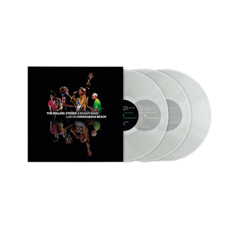 The Rolling Stones: A Bigger Bang Live On Copacabana Beach (Clear 3LP)