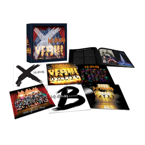 Def Leppard: The Vinyl Boxset: Volume 3 (9LP)