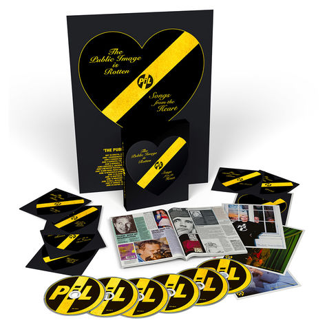 Public Image Limited: The Public Image Is Rotten (Songs From The Heart) [5CD + 2DVD)