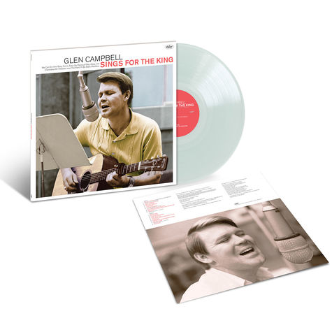 Glen Campbell: Glen Sings For The King (Crystal Clear) (LP)