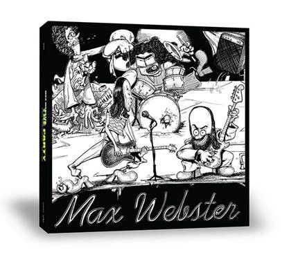 Max Webster: The Party (Box Set)