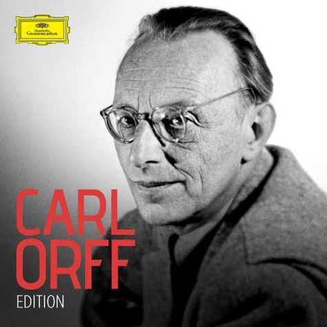 Various Artists: Carl Orff ? 125th anniversary edition (11 CDs)
