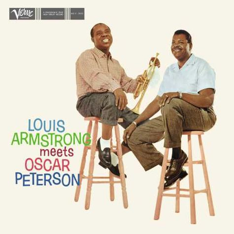 Various Artists: Louis Armstrong Meets Oscar Peterson (LP)