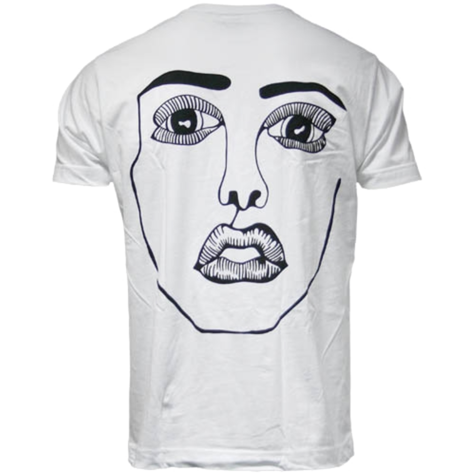 Disclosure: The Face: White + Black Tee Back Print