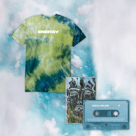 Disclosure: LIMITED EDITION TIE DYE TEE + CASSETTE