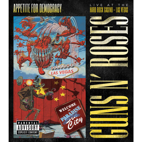 Guns N' Roses: Appetite For Democracy (2 CD / Blu-Ray)