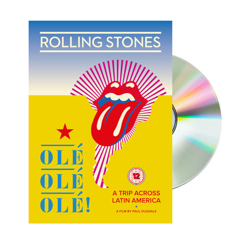 The Rolling Stones: Ole Ole Ole! - A Trip Across Latin America (DVD)