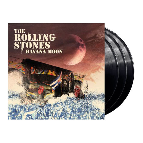 The Rolling Stones: Havana Moon (DVD + 3LP)