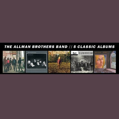 The Allman Brothers Band: 5 Classic Albums (5CD)