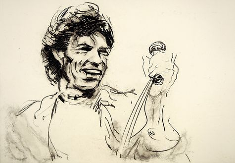 Ronnie Wood: Mick III