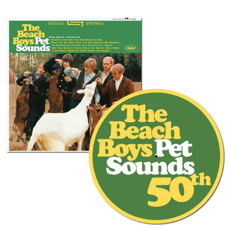 The Beach Boys: Pet Sounds: Mono Vinyl + Exclusive 50th Anniversary Slip Mat