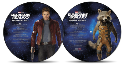 Soundtrack: Guardians Of The Galaxy: Awesome Mix Vol.1 (Vinyl Picture Disc)