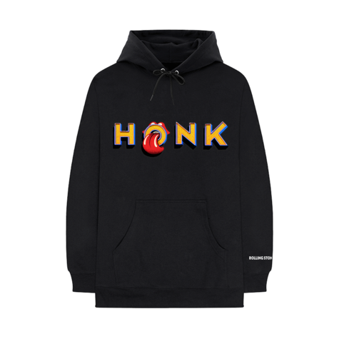 The Rolling Stones: Honk Black Album Hoodie