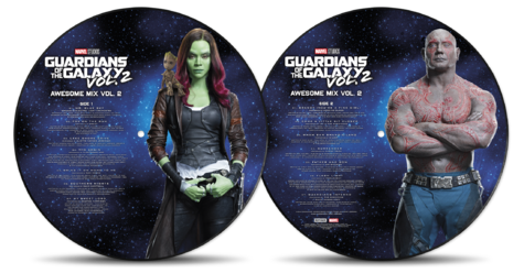 Soundtrack: Guardians Of The Galaxy: Awesome Mix Vol.2 (Vinyl Picture Disc)