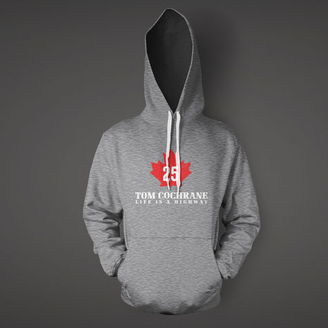 Tom Cochrane: Mad Mad World Leaf Hoodie