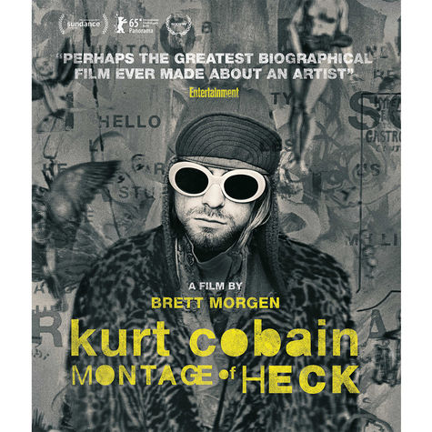 Kurt Cobain: Montage Of Heck: Film (Blu-Ray)