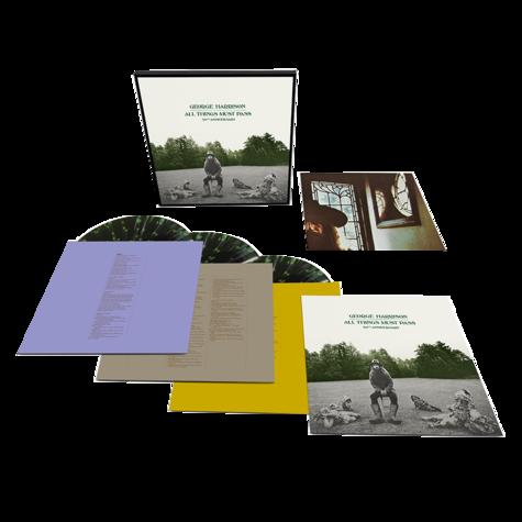 George Harrison: All Things Must Pass (3LP Splatter Vinyl)