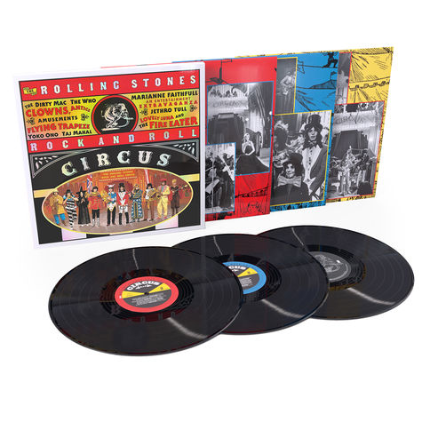 The Rolling Stones: Rolling Stones Rock & Roll Circus (50th Anniversary) (3LP)