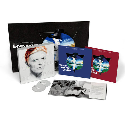 Various Artists: The Man Who Fell To Earth (Deluxe Edition 2LP + 2CD)