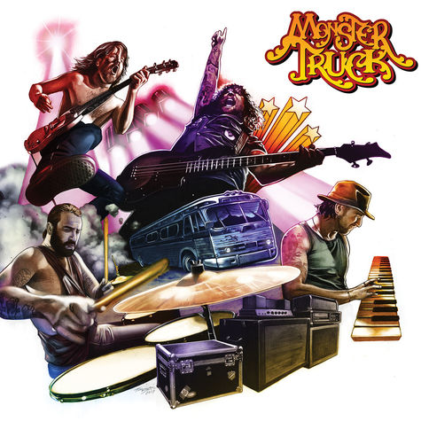 Monster Truck: True Rockers (CD)