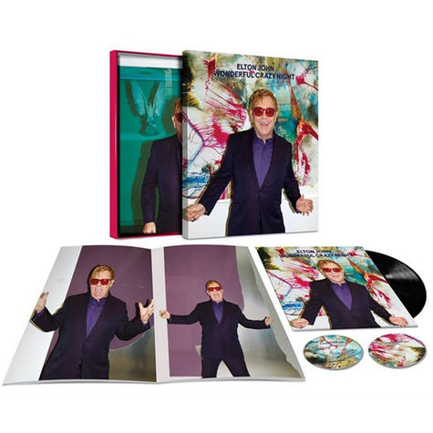 Elton John: Wonderful Crazy Night Album Super Deluxe Box Set