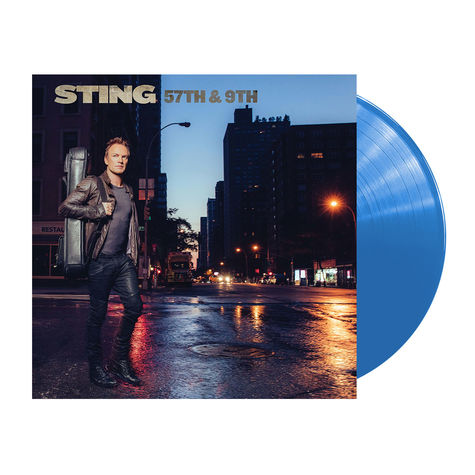 Sting: 57th & 9th (Blue Vinyl LP)