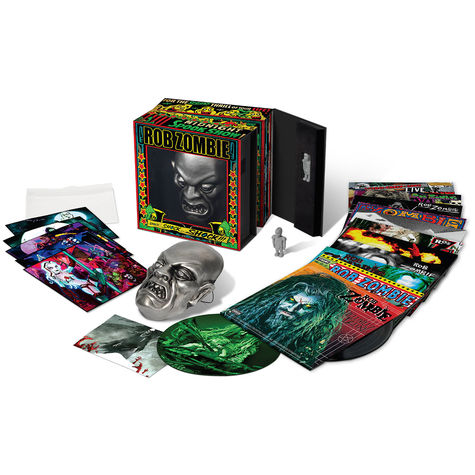 Rob Zombie: Autographed Vinyl Boxed Set (15 LP)