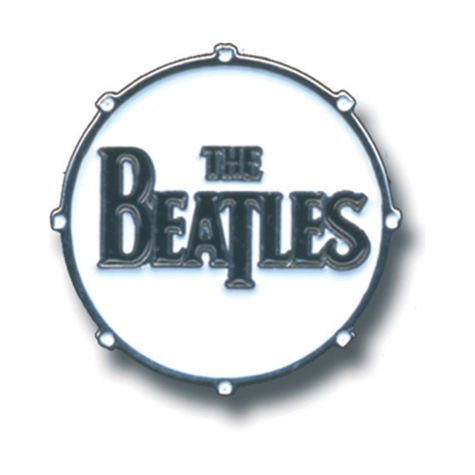 The Beatles: Drum Logo Pin
