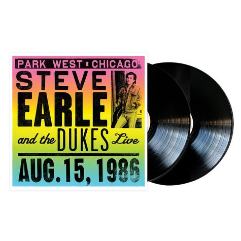 Steve Earle: Live In Chicago (2LP)