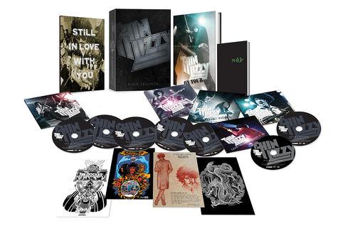 Thin Lizzy: Rock Legends (6CD/DVD)