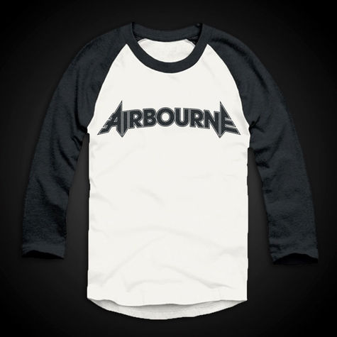 Airbourne: Airbourne Logo Baseball Shirt