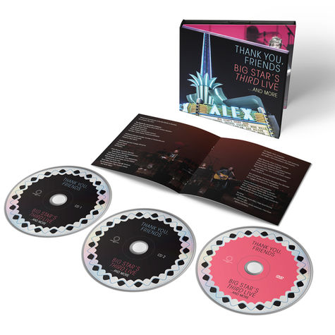 Big Star: Thank You, Friends: Big Star's Third Live..And More (2CD+DVD)