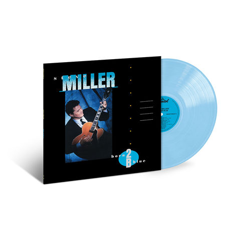 Steve Miller Band: Born 2 B Blue (LP Opaque Baby Blue)