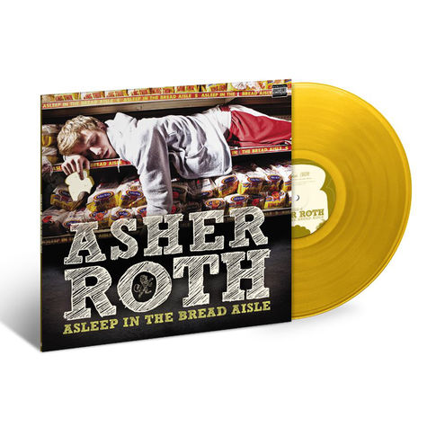 Asher Roth: Asleep In The Bread Aisle (LP)