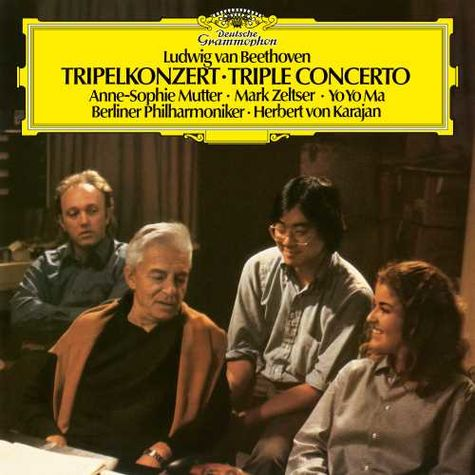 Various Artists: Beethoven: Triple Concerto (LP)