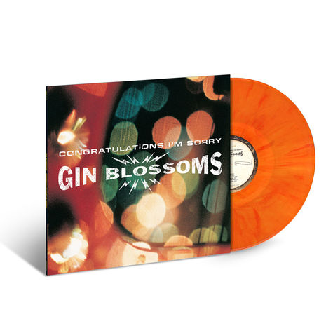 Gin Blossoms: Congratulations I'm Sorry (Marbled Orange Vinyl)