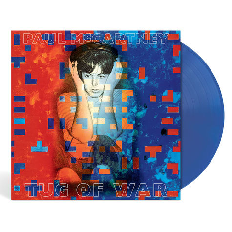 Paul McCartney: Tug Of War (Blue Vinyl)