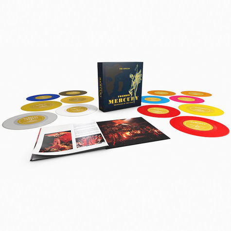Freddie Mercury: Messenger Of The Gods: The Singles Collection (13 x 7